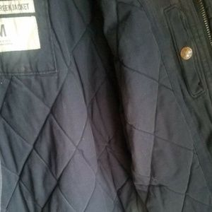 Abercrombie & Fitch Jackets & Coats - Abercrombie & Fitch Mens sz M Blue A&F GRINDSTONE
